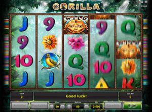 Автомат Gorilla – играйте бесплатно в мобильной версии