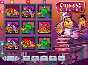 Игровой автомат Chinese Kitchen онлайн