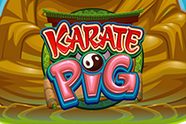 Играйте онлайн на автоматы Поросенок Каратист