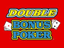 Игровой автомат Дабл Дабл Бонус Покер